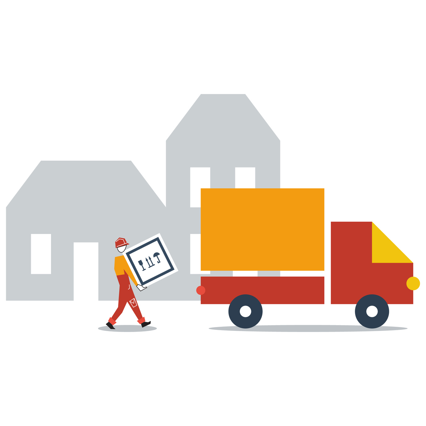 Auto truck delivery